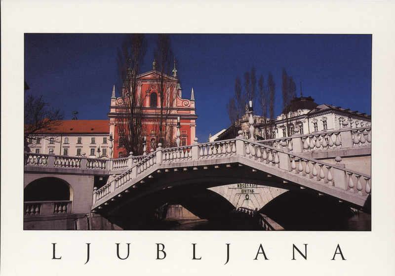 Ljubljana - 3 bridges